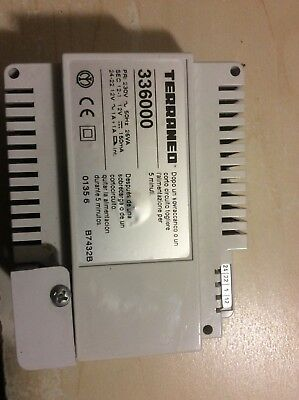 Bticino   Terranneo 336000 door entry power supply New never fitted