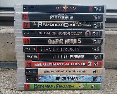 Playstation 3 Games Small Lot *Choose Your Game*