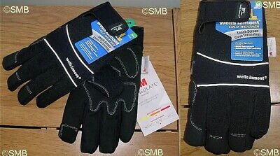 Wells Lamont Insulated Flexible Synthetic Leather Gloves size XL NEW