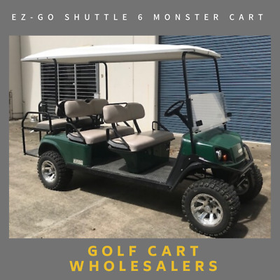 Golf Cart,Car, Buggy, 6 Seater Shuttle Electric Ez-Go With Everything