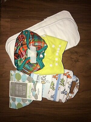 6 Piece Cloth Diaper Lot NEW WITH TAGS
