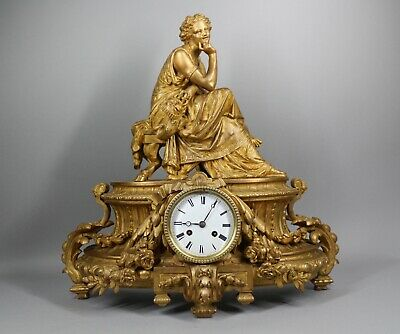 ANTIQUE LOUIS XVI STYLE TABLE/MANTEL/SHELF CLOCK - Free Worldwide Shipping