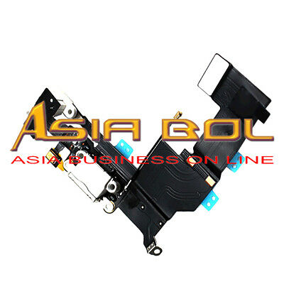 Headphone Audio Dock Connector Charging Data USB Port Flex Cable For IPhone 5S