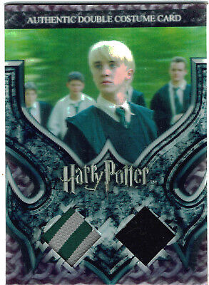 World of Harry Potter 3D Series 2 Costume Card C4 Slytherin Students 134/260