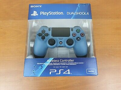 Sony PlayStation DualShock 4 Controller PS4 Grey Blue Official Uncharted 4 Boxed