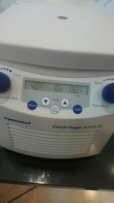 Eppendorf Centrifuge 5415R with Rotor and Lid