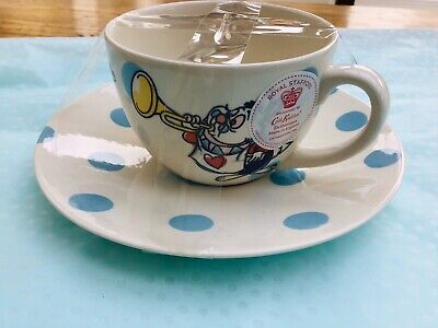 Cath Kidston Alice In Wonderland Tea Cup And Saucer - Brand New