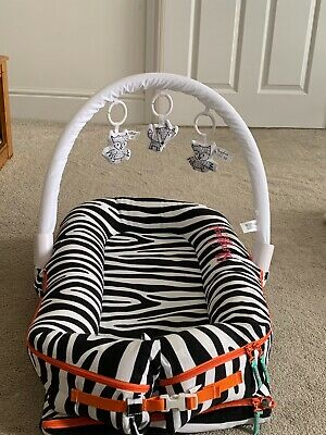 RRP £235 Sleepyhead Deluxe+ SET Baby Pod, Travel Bag, Arch with Toys