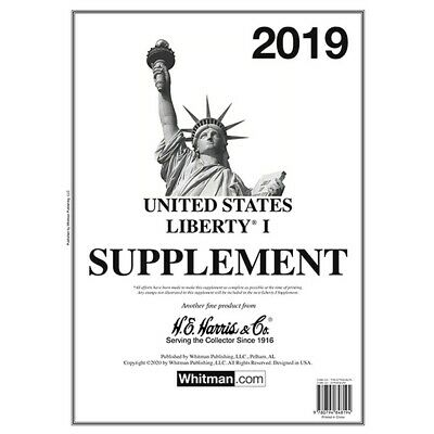 New 2019 Harris Stamp Album Supplement Pages Liberty I 1 Free Shipping Deal