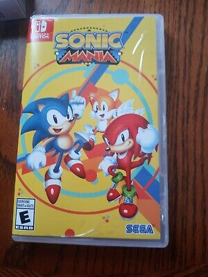 nintendo switch ame sonic mania used played little in case