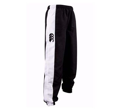 Canterbury Mnes Adult Stripe Track Pants Navy Black - Sizes S - 4Xl