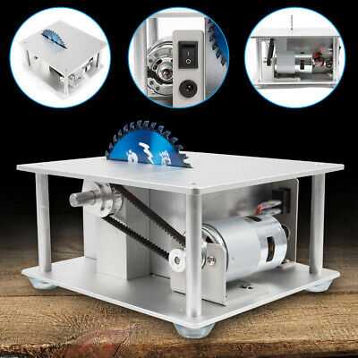 Woodworking Table Saw Bench,Benchtop Blade Lathe Polisher,Craft Cutting Tool USA