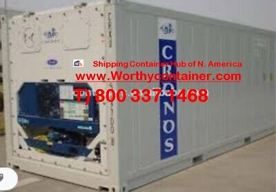 40' High Cube Refrigerator Container - As Is - Insulated Storage Container