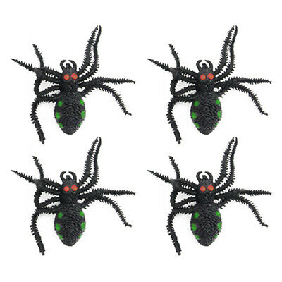 150X Fake Spider bat mouse Rubber Kids Children Toy Halloween Big Large Web  X