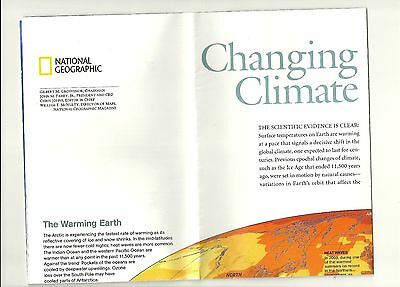 Changing Climates October 2007  National Geographic Society Maps