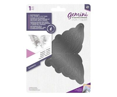 Crafter's Companion Gemini Foil Stamp 'N' Cut Die - Elements Papillon Butterfly