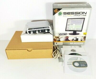 M-Audio Session With Fast Track USB