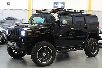 "2002 Hummer H2 6.0 LPG GAS CONVERTED+4"" LIFT KIT+MONSTER TYRES+6 SEATS+CUSTOM+PX"