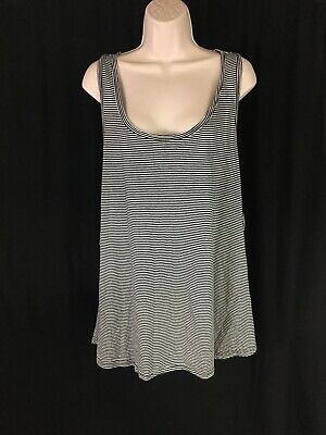 Xhilaration Women's Plus Sz 3X Tank Top Striped Sleeveless Sleepwear Razorback