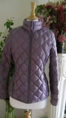 32 Degrees Heat Jacket Lilac Mauve S M Down  Feather Puffer Quilted Weatherproof