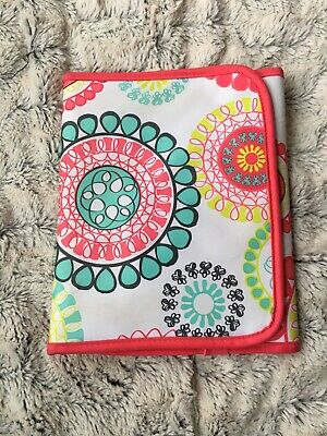 Thirty One 31 Fold It Up Organizer Citrus Medallion Tablet iPad Kindle Case