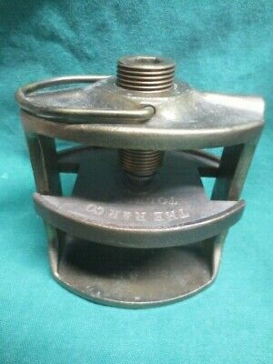 vtg R & R Co. Brass Dentist Orthodontist Dental False Teeth Clamp Vise