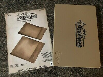 Sizzix Bigz CARVED ORNAMENTS 656937 TIM HOLTZ ALTERATIONS MOVERS /& SHAPERS