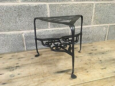 Antique 18th century Wrought Iron Trivet -  Fireplace, Fire irons, Andirons