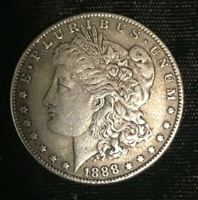 1888-CC Morgan Fantasy Dollar - A Coin Never Made by the U.S. Mint!