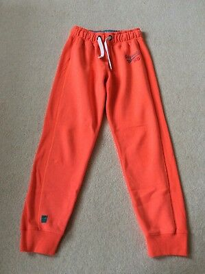 Girls Next Orange Joggers Age 15 years