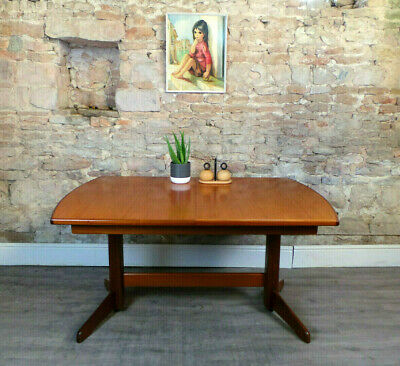 Vintage mid century G-PLAN 1960s 70s teak extending dining table retro DELIVERY