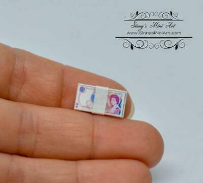 """SMALL DOLLHOUSE 1:12 Miniature Resin Solid /""""Stack of Flower Pots/"""""""