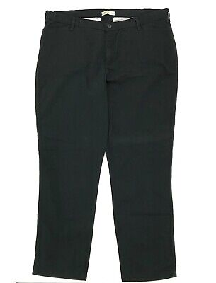 Riders by Lee Women's Size 22 W L Pants Black Easy Care Stretch Fit Straight Leg