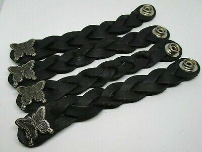 Eagle Wings Up Pewter SIX PACK Lace Up for Vest Extenders Boot Laces Made in USA