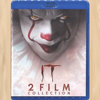 Stephen King's IT Chapter One & Two WALMART BLU-RAY 2-Film Collection       0316