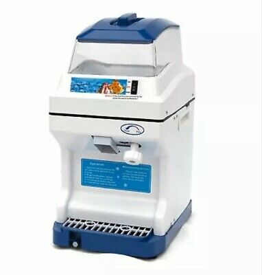 Commercial Electric Ice Shaver snow Cone Smoothie Maker Machine. Hopper 200kg/h