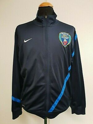 J67 Girls Nike Bristol Academy Womens Football Tracksuit Top Age 13-15 Years 38""