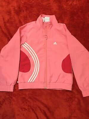 Adidas Girls Tracksuit Jacket Age 8years (140cm)