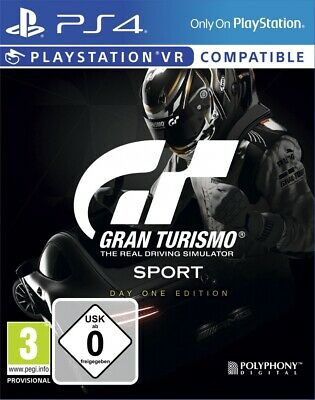 Gran Turismo Sport PS4 Spiel Day One Edition NEU OVP Playstation 4