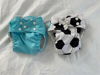 Lot of 2 Charlie Banana One Size Cloth Pocket Diapers