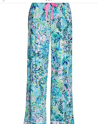 Lilly Pulitzer NWT Pajama Pants Multi Lilly's House 🏡 $68