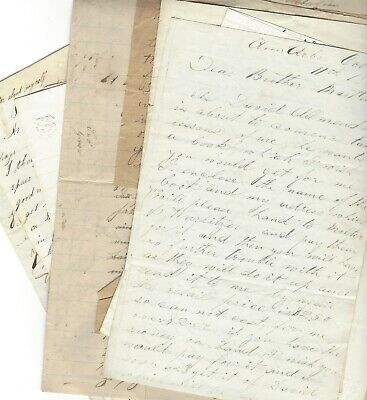19th Century Letters Reveal Storms, Shipwrecks, Asylum Visit, Harness Making
