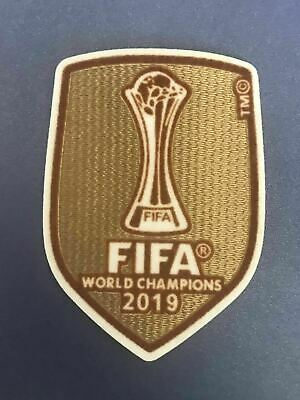 2019 Club World Cup Champions Liverpool LFC Jersey Iron On Patch Badge UK STOCK