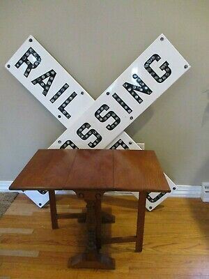 Ca. 1920's Salesman Sample or child size mini drop leaf gateleg table   CUTIE!!