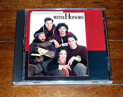 CD: With Honors [Original Movie Soundtrack] 1994 Warner Bros V/A Blue Skies VG+
