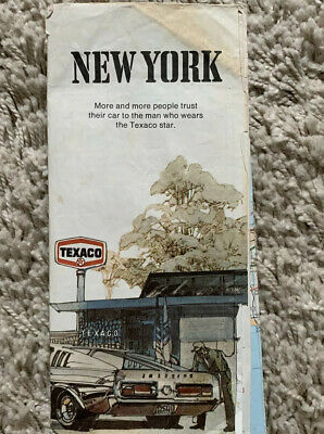 Map Of New York From 1970's