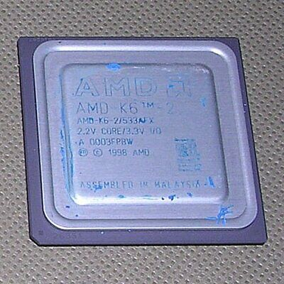 NEW AMD-K6-2+//500ACZ AMD-K6 tm -III Processor