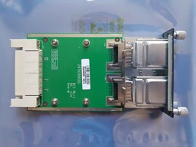 Dell PowerConnect 6200 XFP-R 10GbE XFP Dual Port Module Card 0FJ727 FJ727 Tested