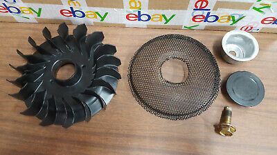 Briggs and Stratton OHV Engine Model 31P677 Fan and Screen 796083 593933