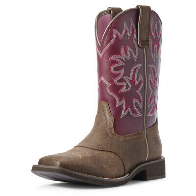 Ladies Ariat Delilah Boot - C Width - Wide Square Toe - Sizes 7 to 11